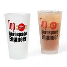 Top Aerospace Engineer Drinking Glass