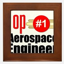 Top Aerospace Engineer Framed Tile