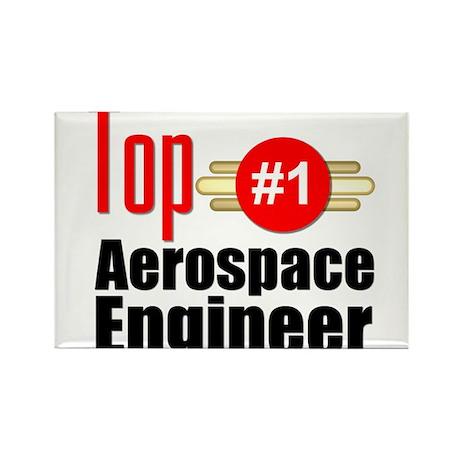 Top Aerospace Engineer Rectangle Magnet