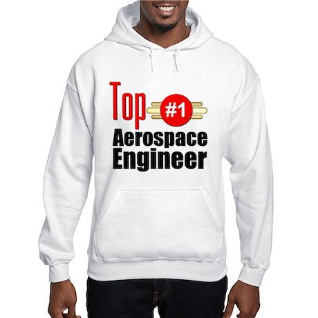 Top Aerospace Engineer Hooded Sweatshirt