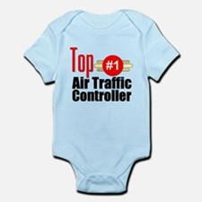 Top Air Traffic Controller Infant Bodysuit