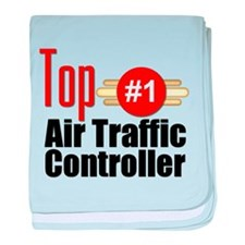 Top Air Traffic Controller baby blanket