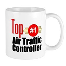 Top Air Traffic Controller Small Mug