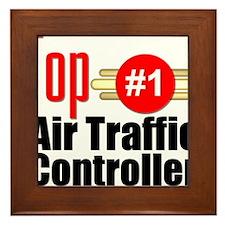 Top Air Traffic Controller Framed Tile