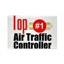 Top Air Traffic Controller Rectangle Magnet