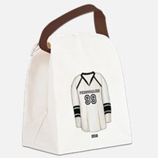 Hockey Jersey Canvas Lunch Bag