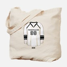 Hockey Jersey Tote Bag