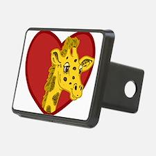 Giraffe Valentine Hitch Cover