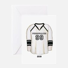 Hockey Jersey Greeting Card