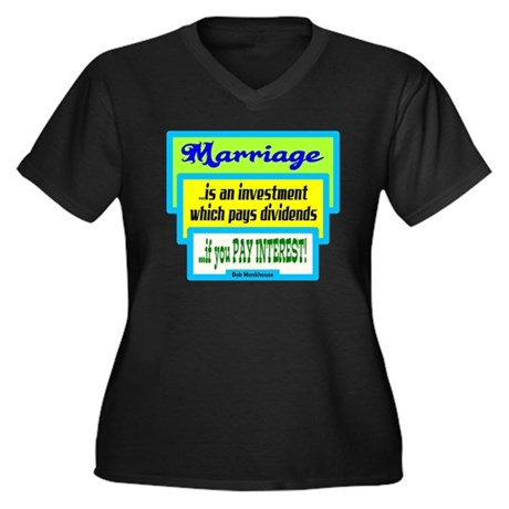 Marriage Is An Investment-Bob Monkhouse/t-shirt Wo