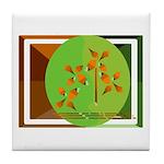 DESERT GREENS Tile Coaster