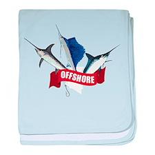 Offshore baby blanket