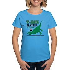 T-Rex Hates Push Ups Tee