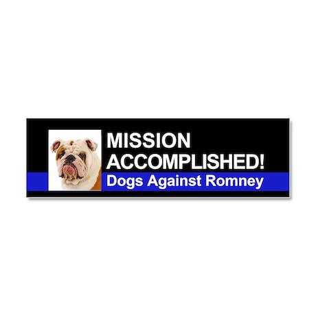 Mission Accomplished magnet - Bulldog