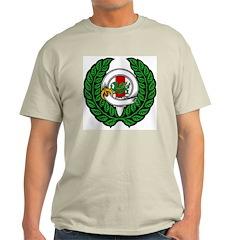 Midrealm Chiv Laurel 2 Ash Grey T-Shirt