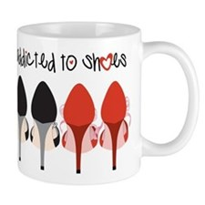 Addicted To Shoes Mug