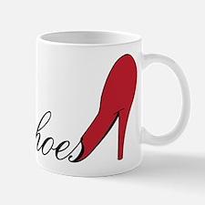 Red High Heel Shoe Mug
