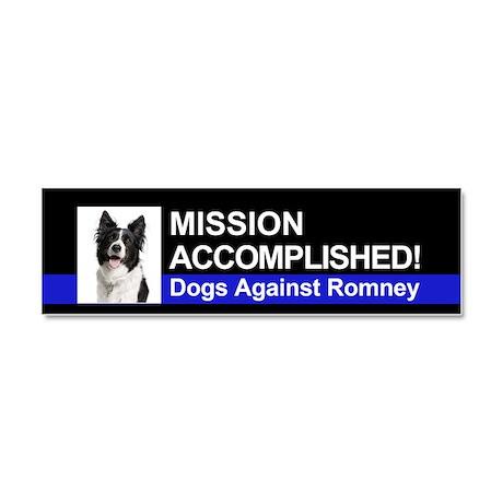 Mission Accomplished magnet - Border Collie