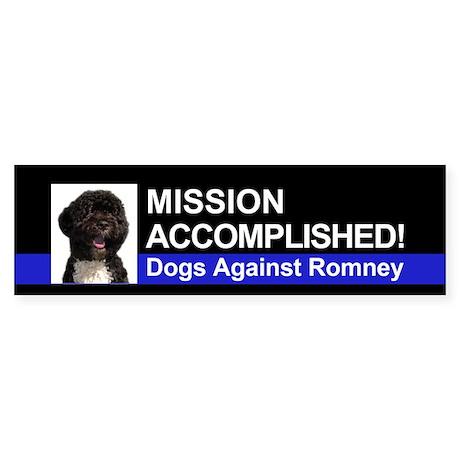 Mission Accomplished sticker - Bo