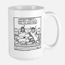 On The Bed Ceramic Mugs