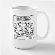 On The Bed Coffee Mug
