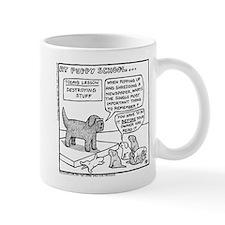Puppy School - Destroying Things Mug
