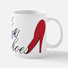 I Love Shoes Mug