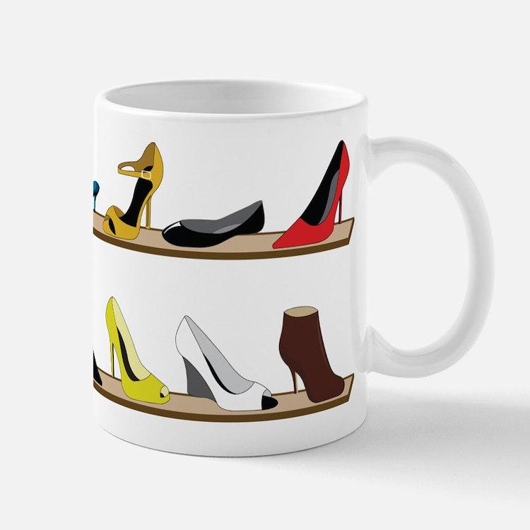 Heeled Shoe Stack Mug