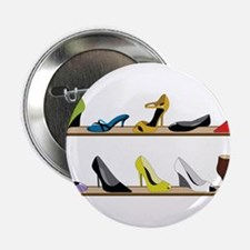 """Heeled Shoe Stack 2.25"""" Button"""