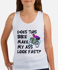 Funny Bike Saying Women's Tank Top