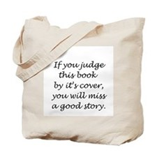 If you judge this book... Tote Bag