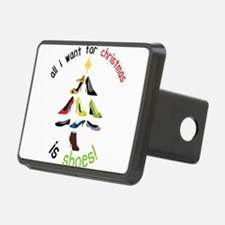 Shoes for Christmas Hitch Cover
