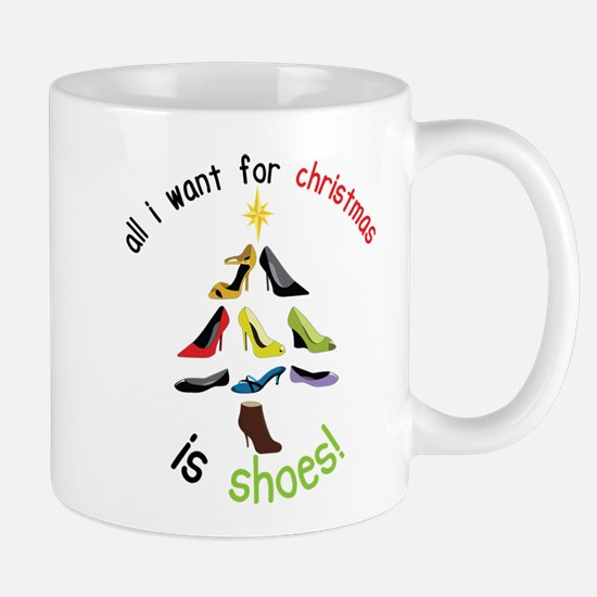 Shoes for Christmas Mug