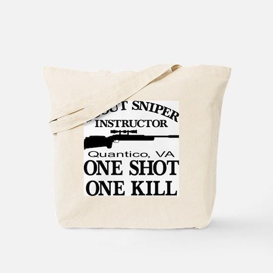 Scout-Sniper Instructor Tote Bag