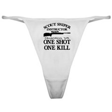 Scout-Sniper Instructor Classic Thong