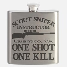 Scout-Sniper Instructor Flask
