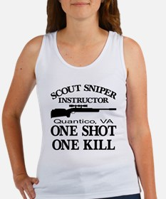 Scout-Sniper Instructor Women's Tank Top