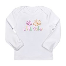 Little Sister Buttterfly Long Sleeve T-Shirt