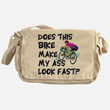 Funny Bike Saying Messenger Bag
