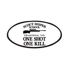 Scout-Sniper School Patches