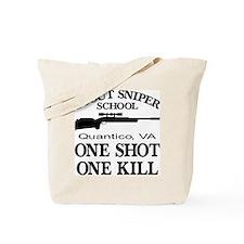 Scout-Sniper School Tote Bag