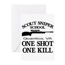 Scout-Sniper School Greeting Cards (Pk of 20)