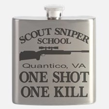 Scout-Sniper School Flask