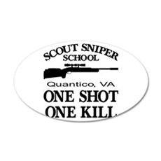 Scout-Sniper School Wall Decal
