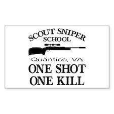 Scout-Sniper School Decal