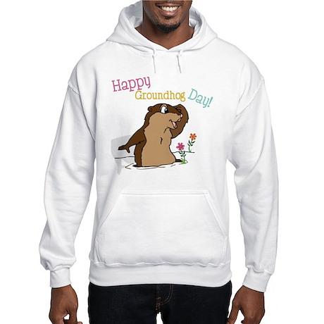 Happy Groundhog Day Hooded Sweatshirt