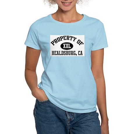 Property of HEALDSBURG Women's Pink T-Shirt