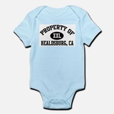 Property of HEALDSBURG Infant Creeper