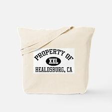 Property of HEALDSBURG Tote Bag