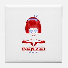 Banzai Okaasan Tile Coaster